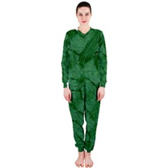 Woven Skin Green Onepiece Jumpsuit (ladies)