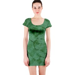 Woven Skin Green Short Sleeve Bodycon Dresses