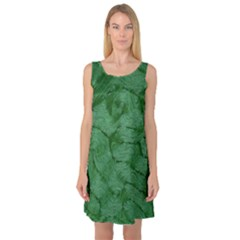 Woven Skin Green Sleeveless Satin Nightdresses