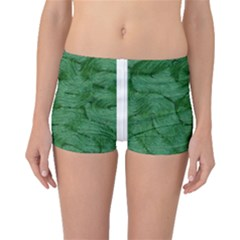 Woven Skin Green Boyleg Bikini Bottoms