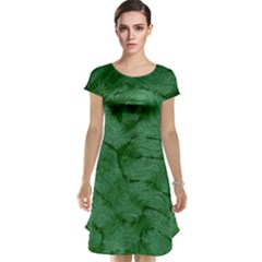 Woven Skin Green Cap Sleeve Nightdresses