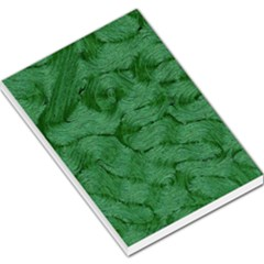 Woven Skin Green Large Memo Pads