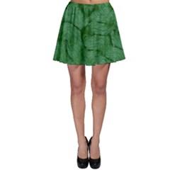 Woven Skin Green Skater Skirts