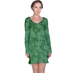 Woven Skin Green Long Sleeve Nightdresses