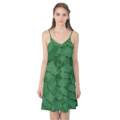 Woven Skin Green Camis Nightgown
