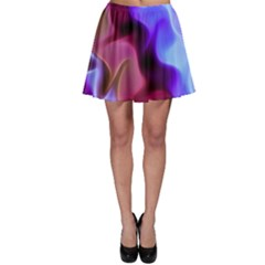 Rippling Satin Skater Skirts
