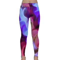 Rippling Satin Yoga Leggings