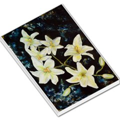 Bright Lilies Large Memo Pads