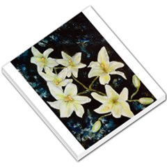 Bright Lilies Small Memo Pads