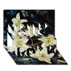 Bright Lilies You Rock 3D Greeting Card (7x5)