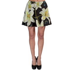 Bright Lilies Skater Skirts