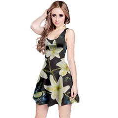 Bright Lilies Reversible Sleeveless Dresses