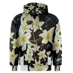Bright Lilies Men s Pullover Hoodies