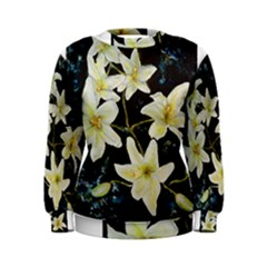 Bright Lilies Women s Sweatshirts