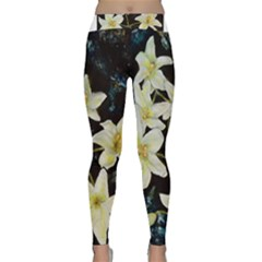 Bright Lilies Yoga Leggings