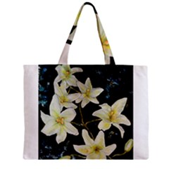 Bright Lilies Zipper Tiny Tote Bags