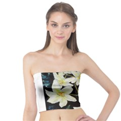 Bright Lilies Women s Tube Tops