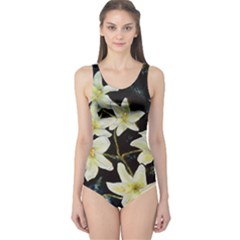 Bright Lilies Women s One Piece Swimsuits