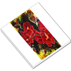 REd Orchids Small Memo Pads