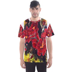 Red Orchids Men s Sport Mesh Tees