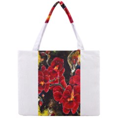 REd Orchids Tiny Tote Bags