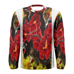 REd Orchids Men s Long Sleeve T-shirts