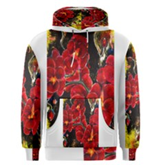 REd Orchids Men s Pullover Hoodies