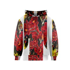 Red Orchids Kid s Pullover Hoodies