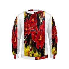 REd Orchids Boys  Sweatshirts