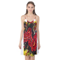 REd Orchids Camis Nightgown