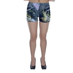 Black Ice Skinny Shorts