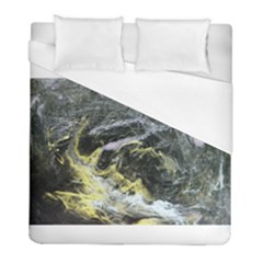 Black Ice Duvet Cover Single Side (twin Size)