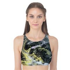 Black Ice Tank Bikini Top