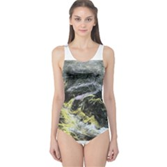 Black Ice Women s One Piece Swimsuits