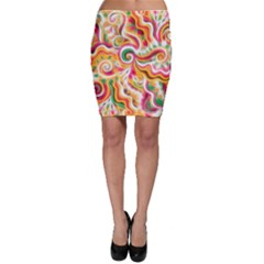 Sunshine Swirls Bodycon Skirts