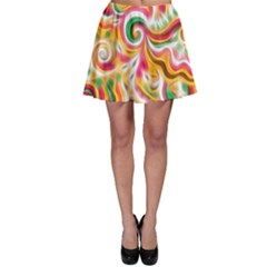 Sunshine Swirls Skater Skirts