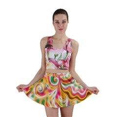 Sunshine Swirls Mini Skirts