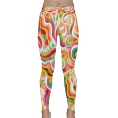 Sunshine Swirls Yoga Leggings