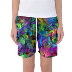 Unicorn Smoke Women s Basketball Shorts