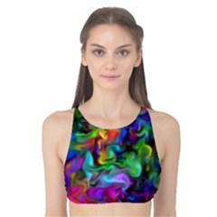 Unicorn Smoke Tank Bikini Top