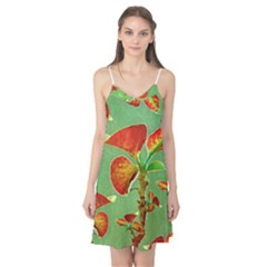 Tropical Floral Print Camis Nightgown