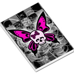 Skull Butterfly Large Memo Pads