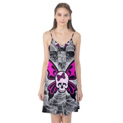Skull Butterfly Camis Nightgown