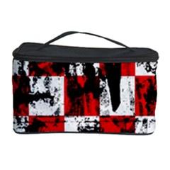 Emo Checker Graffiti Cosmetic Storage Cases