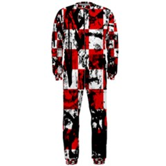 Emo Checker Graffiti OnePiece Jumpsuit (Men)