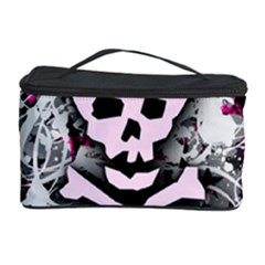 Pink Skull Splatter Cosmetic Storage Cases