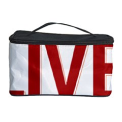 Love The Life You Live Cosmetic Storage Cases