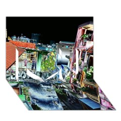 Colour Street Top I Love You 3d Greeting Card (7x5)