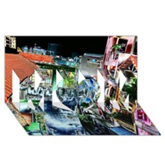 Colour Street Top MOM 3D Greeting Card (8x4)