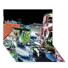 Colour Street Top LOVE Bottom 3D Greeting Card (7x5)